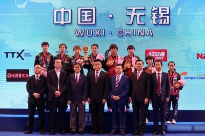 亚乒赛圆满落幕 中国队两冠压轴