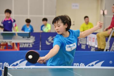 2018年全国乒乓球锦标赛(U14组)在锡开赛