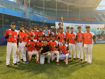 无锡锡山体校勇夺二青会棒球U19组冠军