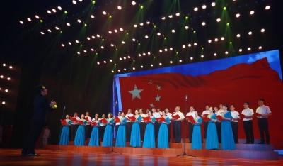 市体育局举行庆祝中华人民共和国成立70周年歌咏比赛